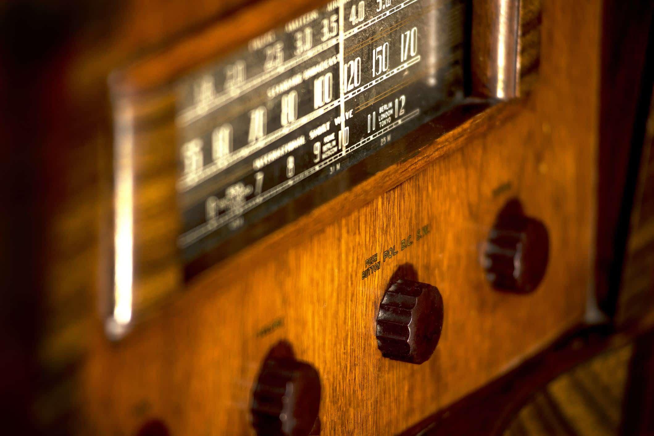La radio fête ses 100 ans la semaine du 31 mai 2021